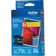 Brother LC79C Cyan Ink Cartridge, Super High-Yield