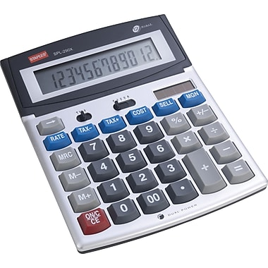 Staples 12-digit SPL-290X Desktop Calculator