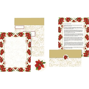Great Papers Poinsettia Swirl Self Mailer