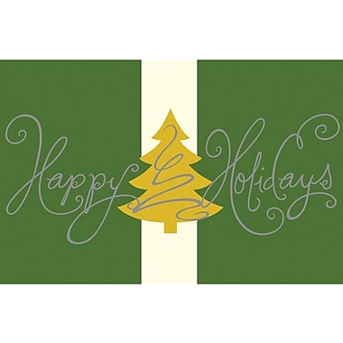Great Papers® Silver & Gold Trees Imprintable Greeting Card