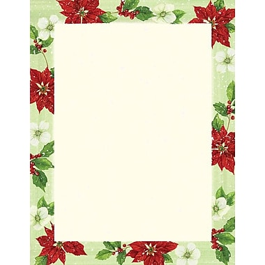 Great Papers Poinsettia Magnolis Stationery
