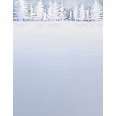 Great Papers® Holiday Stationery Winter Treeline , 40/Count