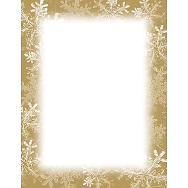 Great Papers® Frosted Holiday Wishes Letterhead, 250/Pack