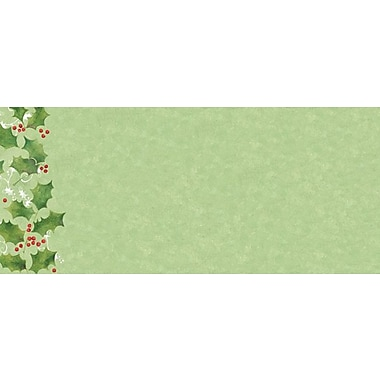 Great Papers® Jolly Holly #10 Envelope