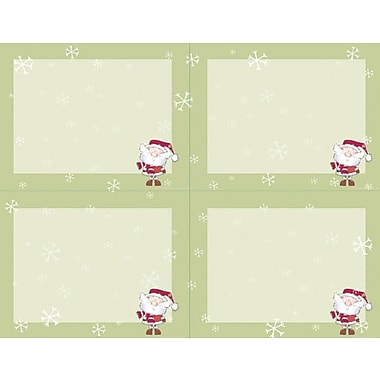 Great Papers® Merry Christmas Santa 4-Up Postcards