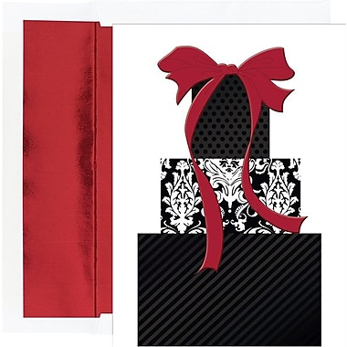 Great Papers® Holiday Cards Damask Packages , 16/Count