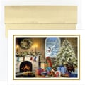 Great Papers® Not a Creature Stirring Holiday Card with White Gold Foil Envelopes