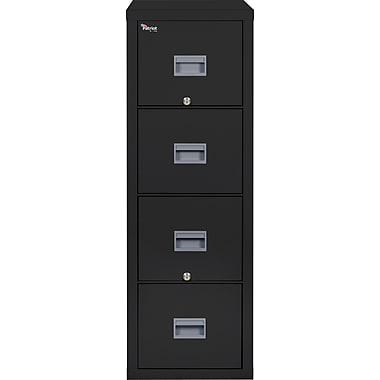 4 Drawer Black,Letter(4P1831CBL)