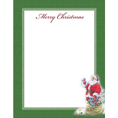 Great Papers Santa & Cardinal Stationery