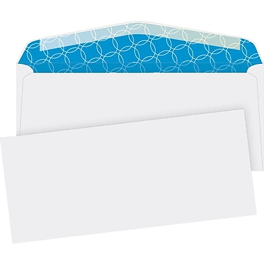 Quality Park® #10, Security-Tint Gummed Envelopes, 500/Box