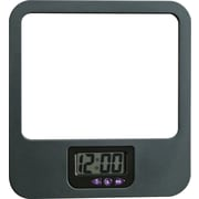 dps by Staples® Verti-Go™ Cubicle Accessories Mirror with Digital Clock