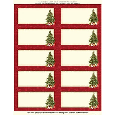 Great Papers Lacy Tree Mailing Labels, 2in. x 4in.