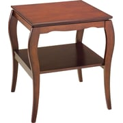 OSP Designs Pro-Line II™ Wood/Veneer End Table, Cherry, Each (BN09CHY)