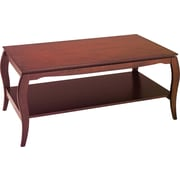 OSP Designs Pro-Line II™ Wood/Veneer Coffee Table, Cherry, Each (BN12CHY)