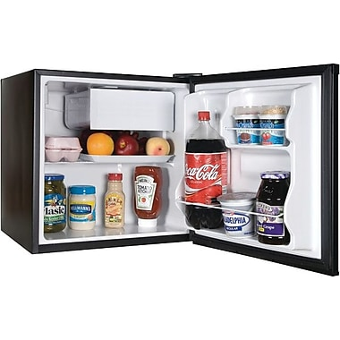 Haier 1.7 CU. FT. Refrigerator/Freezer, Black