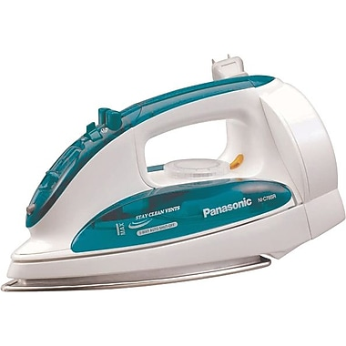 Panasonic Steam Iron, White/Green