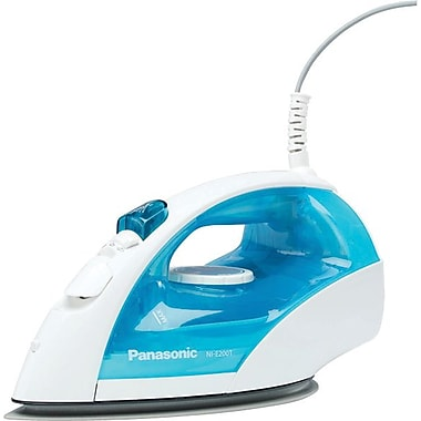Panasonic Steam/Dry Iron, White/Blue