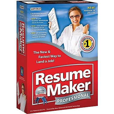 Resumemaker Professional Deluxe V16 [Boxed]