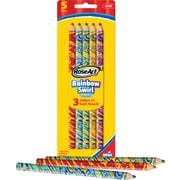 RoseArt Rainbow Jumbo Colored Pencils, 5/Pack