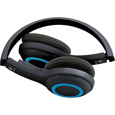 Logitech H600 Wireless PC Headset for Internet Calls and Music (981-000341 )