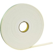 3M 4466 Double Sided Foam Tape, 1 x 5 yds., 1/16, 1/Pack