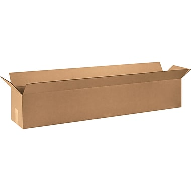 48in.(L) x 6in.(W) x 6in.(H) Staples® Corrugated Shipping Boxes, 25/Bundle
