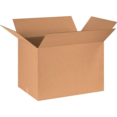 30in.(L) x 18in.(W) x 18in.(H) - Staples® Corrugated Shipping Boxes