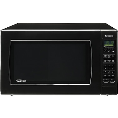 Panasonic 2.2 CU. FT. Countertop Microwave, Black