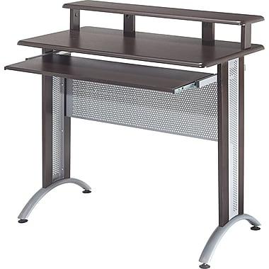 Office Star Fusion Computer Desk, Espresso