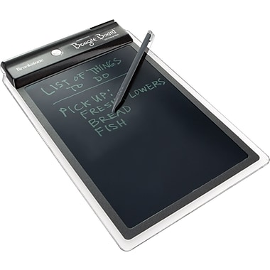Brookstone® Boogie Board™ LCD Writing Tablet with Stylus Holder