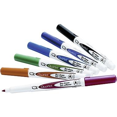 Quartet Fine Point Dry-Erase Marker, Assorted, 6/Pack