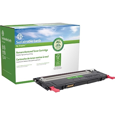 Sustainable Earth by Staples Remanufactured Magenta Laser Toner Cartridge, Dell 1230 (330-3014, J506K)