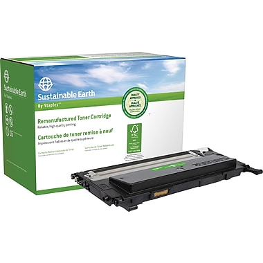 Sustainable Earth by Staples® Remanufactured Black Toner Cartridge, Dell 1230 (330-3012, N012K)