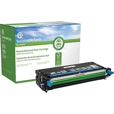 Sustainable Earth by Staples Remanufactured Cyan Toner Cartridge, Dell ...