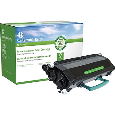Sustainable Earth by Staples® Remanufactured Black Laser Toner Cartridge, Dell 2330 (330-2666, DM253), High Yield