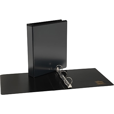 1-1/2in.  Simply™ View Binders with Round Rings,Black