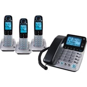GE 30524EE4 DECT 6.0 Corded/Cordless Speakerphone with Digital Answering System