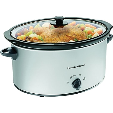 Hamilton Beach® 7-Quart Oval Slow Cooker