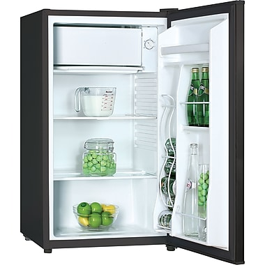 Avanti 3.3 CU. FT. Compact Refrigerator with Chiller Compartment, Black