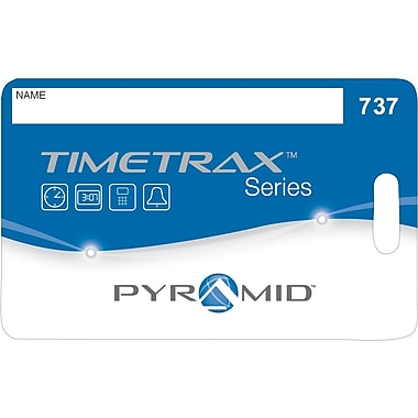 TimeTrax Swipe Cards #51-100 for Pyramid Models EZ & EZEK