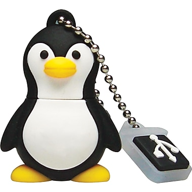 Emtec Animals 8GB USB 2.0 USB Flash Drive (Penguin)