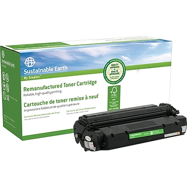 Sustainable Earth by Staples Reman Black Toner Cartridge, Canon S35 (SEBS35R)