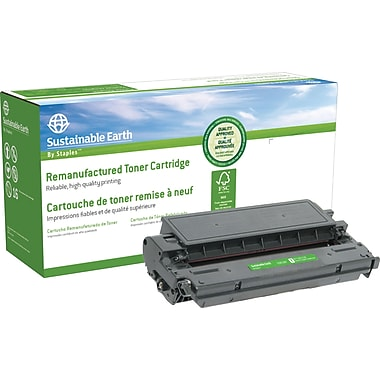 Sustainable Earth by Staples Reman Black Toner Cartridge, Canon E16/E20 (SEBE20R)