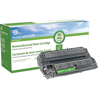 Sustainable Earth by Staples Reman Black Toner Cartridge, Canon FX-2 (SEBFX2R)