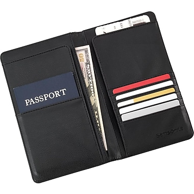 Samsonite® Travel Wallet, Black