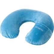 Samsonite® Inflatable Neck Pillow with Cover, Pagoda Blue