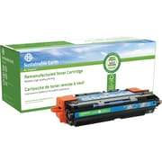 Sustainable Earth by Staples® Remanufactured Cyan Laser Toner Cartridge, HP 311A (Q2681A)