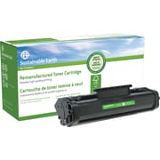 Sustainable Earth by Staples® Remanufactured Black Laser Toner Cartridge, HP 06A (C3906A)