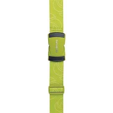 Samsonite® Luggage Strap, Neon Green