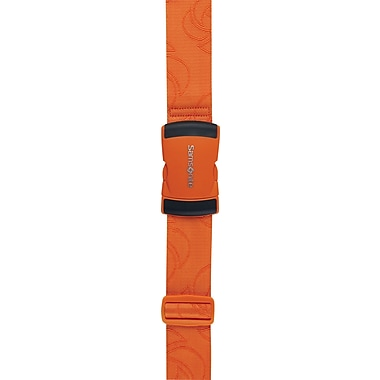 Samsonite® Luggage Strap, Juicy Orange